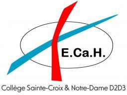 Logo Collège Sainte-Croix et Notre-Dame Hannut